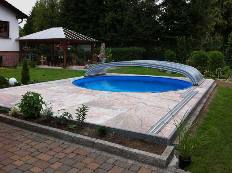 Sandstein for Poolgestaltung mit steinen