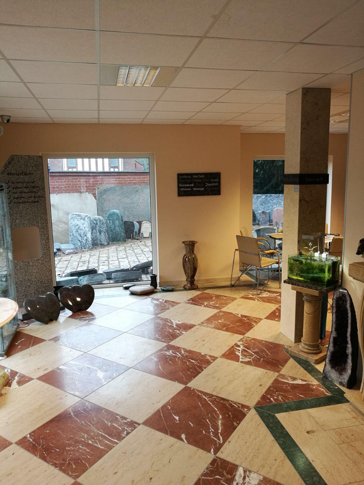 Amazonas Granit Ausstellungsraum