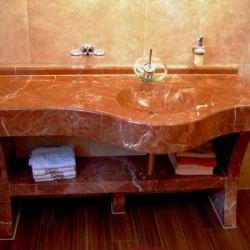 Meditarrane Badezimmergestaltung bis ins Detail