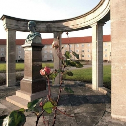 Restauration Denkmal J.H.A. Duncker