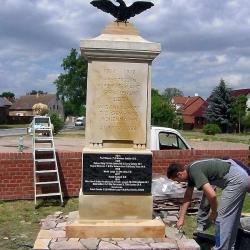 Restauration Kriegerdenkmal in Hohennauen