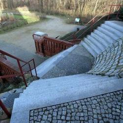 Restauration Aufgang Bismarckturm in Rathenow