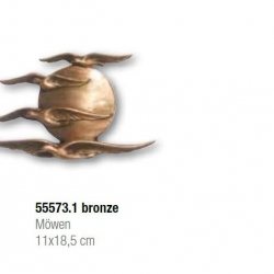 Bronze Möwen
